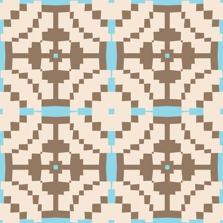 Seamless Patterns Of Oblique Angles Inspired From The Dogon Culture