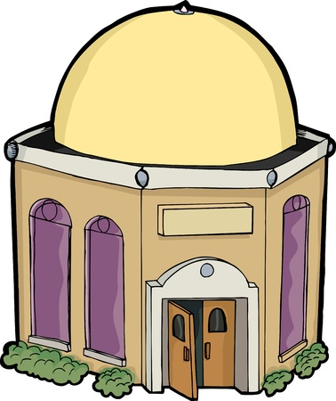 Small generic religious building for any religion Stock Vector - 10880952
