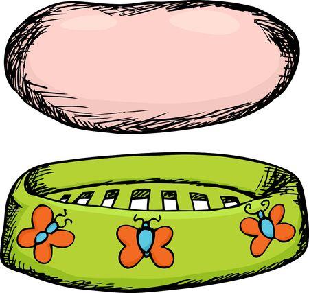 productos de aseo: Barra de color rosa de jab�n con jab�n para lavar platos en blanco