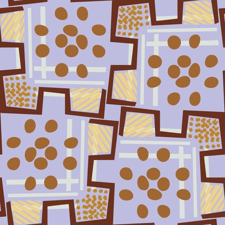 oblong: Kenyan style background with oblong circles and diagonal lines