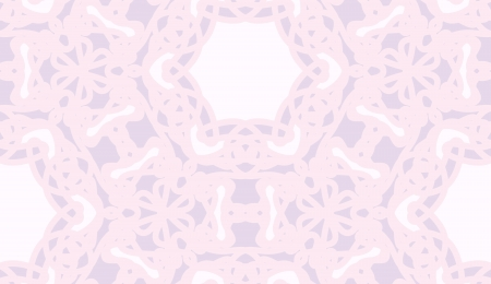 Seamless geometric pink lace background wallpaper pattern Illustration