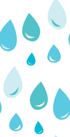 Seamless background pattern of water droplets
