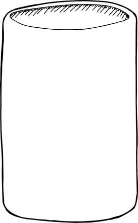 unprinted: Esquema Dibujado a mano puede titular en blanco
