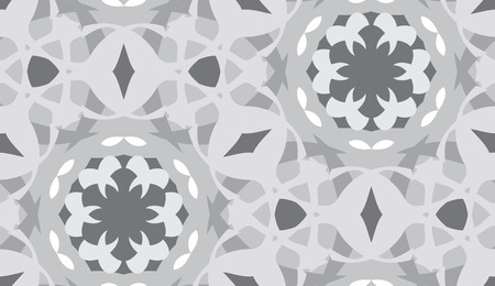 Desaturated geometric shapes as seamless background pattern Иллюстрация