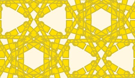 yellow line: Seamless yellow line pattern for wallpaper or background Illustration