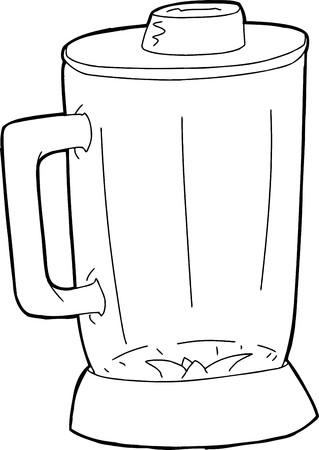空の閉じたグラス ミキサー jar の概要