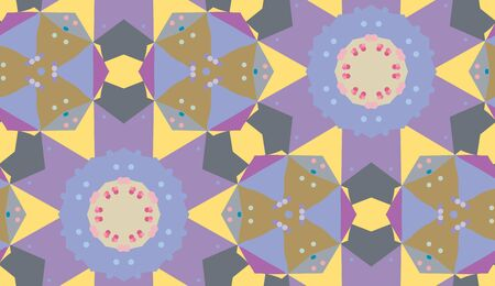 asterisks: Seamless background pattern of purple asterisks with small dots