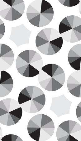 Seamless background pattern of silver compact disks