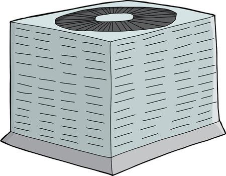 jednolitego: Izolowane jedną ręką wyciągnąć moduł klimatyzacji powietrza