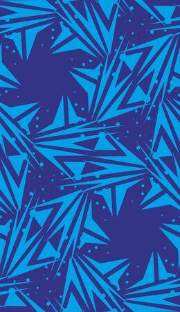 estrella azul: Relanzar el modelo de fondo en forma de estrella azul hilado