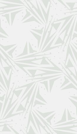 spinning: White repeating spinning star shaped background pattern Illustration