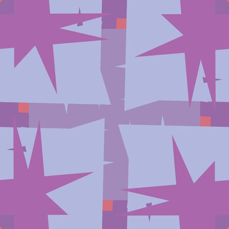 pointy: Purple seamless wrapping paper pattern with pointy corners