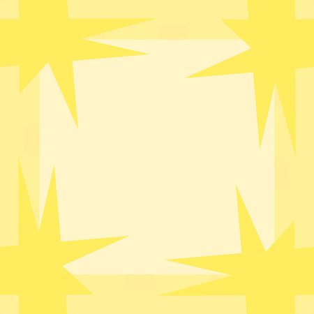 pointy: Yellow seamless wrapping paper pattern with pointy corners
