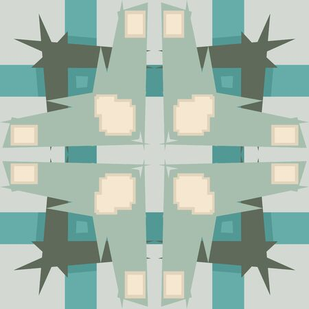 pointy: Abstract seamless wallpaper pattern with pointy corners