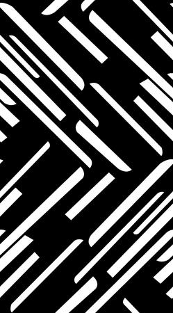 straight lines: Seamless white diagonal straight lines over black Illustration
