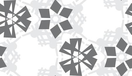 La répétition de motif d'arrière-plan des formes triangulaires grises