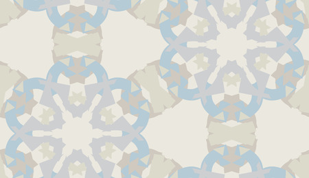 repeating: Repeating background pattern of gray snowflake shapes Illustration