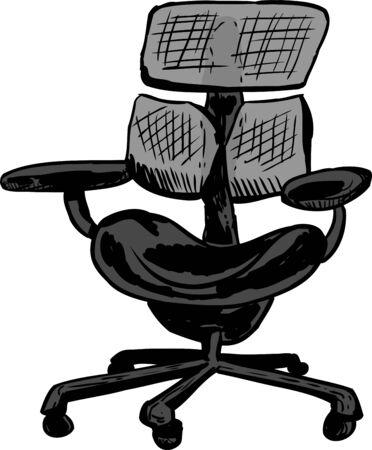 ergonomic: Isolated single ergonomic commercial mesh office chair