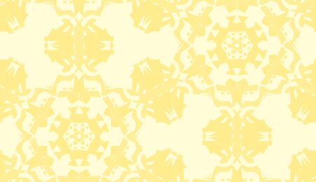 doily: Seamless background doily pattern in bright yellow