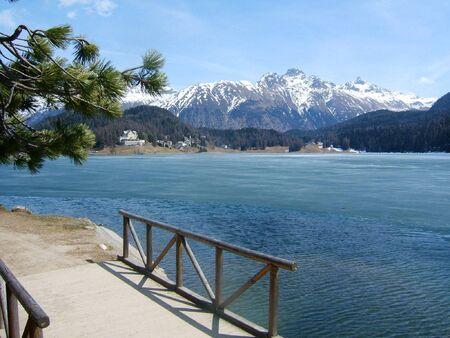 st: St Moritz Lake