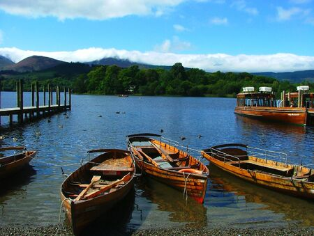 boats on derwentwater Stock Photo - 1566072