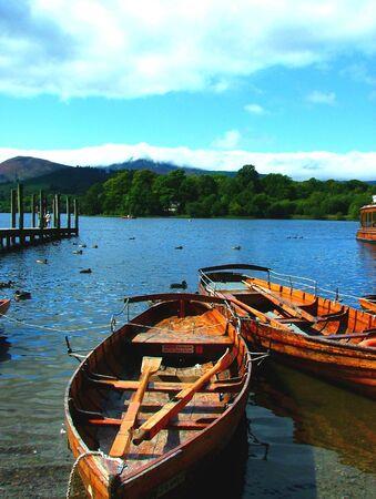 derwentwater boats photo