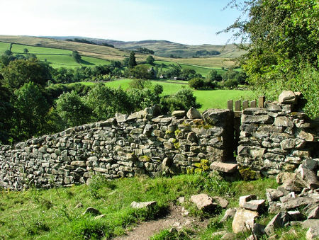 dales: Footpath and Stile in the Yorkshire Dales