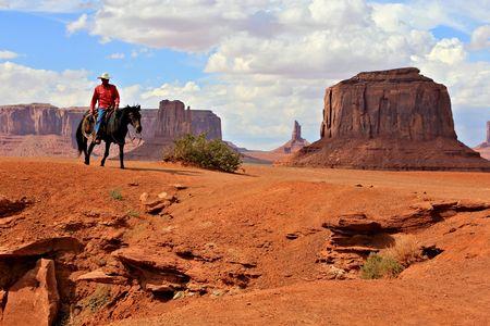 cowboy Foto de archivo