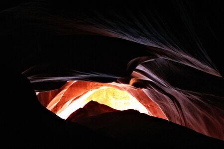 アンテロープ キャニオン、アリゾナ州 写真素材