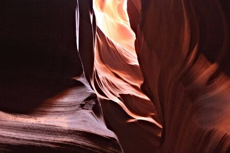 slot canyons: Antelope Canyon, Arizona