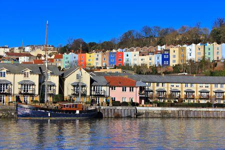 Bristol haven Stockfoto