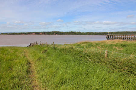 severn: Grassy river bank