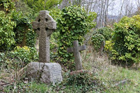 headstone: headstone cross