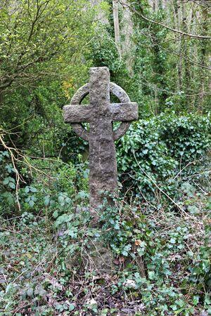 churchyard: churchyard gravestone Stock Photo