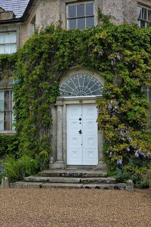 fanlight: grand doorway Stock Photo