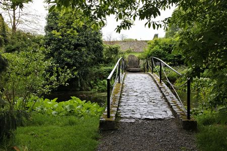footbridges: footbridge Stock Photo