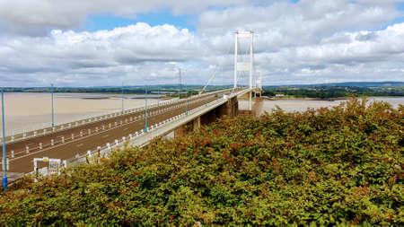Severn Bridge Reklamní fotografie