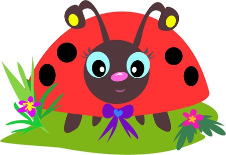 Ladybug Eyes Zdjęcie Seryjne - 4503885