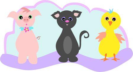 trio: Animal Trio