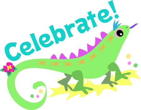 event party festive: Celebrate with Green Lizard