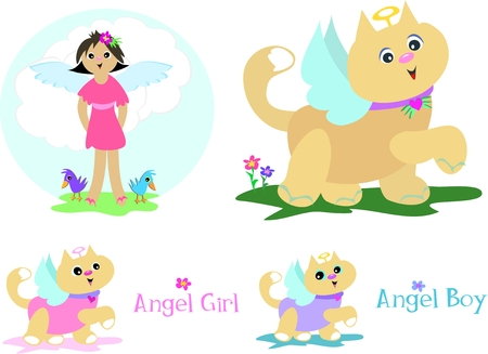 Mix Page of Angels