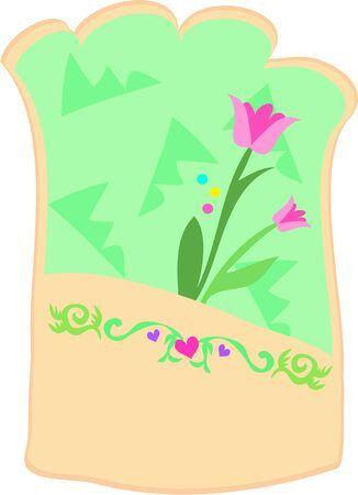 pouch: Flower Pouch