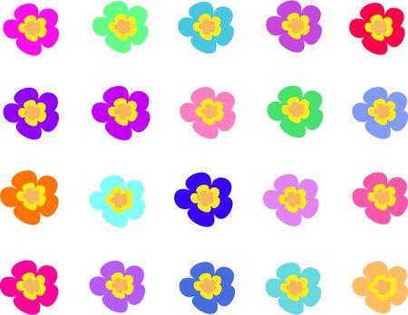 petal: Collection of Five Petal Flowers
