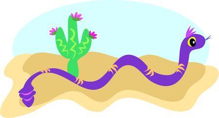 Snake on the Sand
