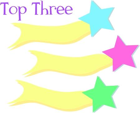 Top Three Stars