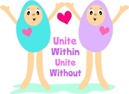 Unite Within, Unite Without Ilustrace