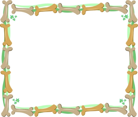 Frame of Bones and Greens