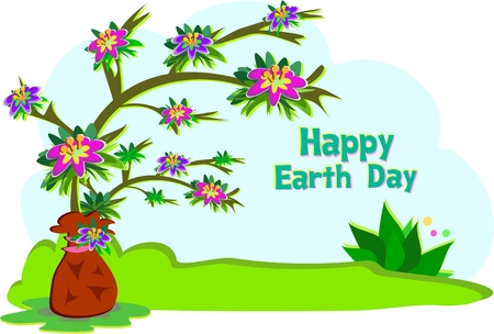 earth day: Earth Day Tree