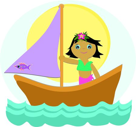 Sailboat Girl