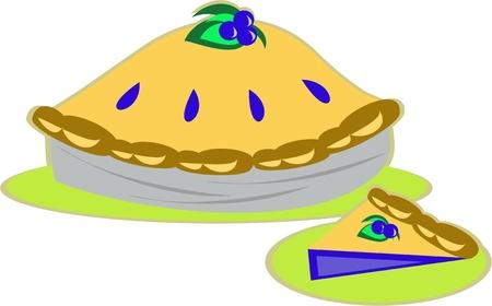 blueberry pie: Blueberry Pie
